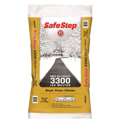 Safe Step  3300  Sodium Chloride  Crystal  Rock Salt  25 lb.