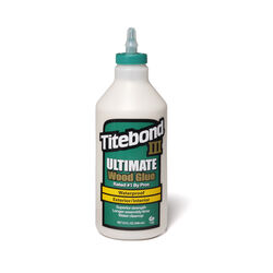 Titebond III Ultimate Waterproof Tan Wood Glue 1 qt.