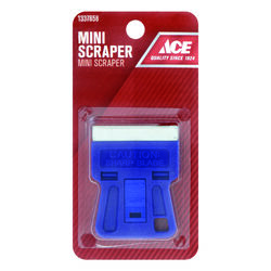 Ace  1.5 in. W Steel  Single-Edge  Glass Scraper