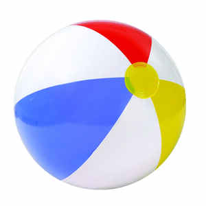 Intex  Multicolored  Vinyl  Inflatable Beach Ball