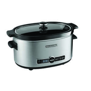 Kitchenaid Slow Cooker 6 qt. Glass Lid