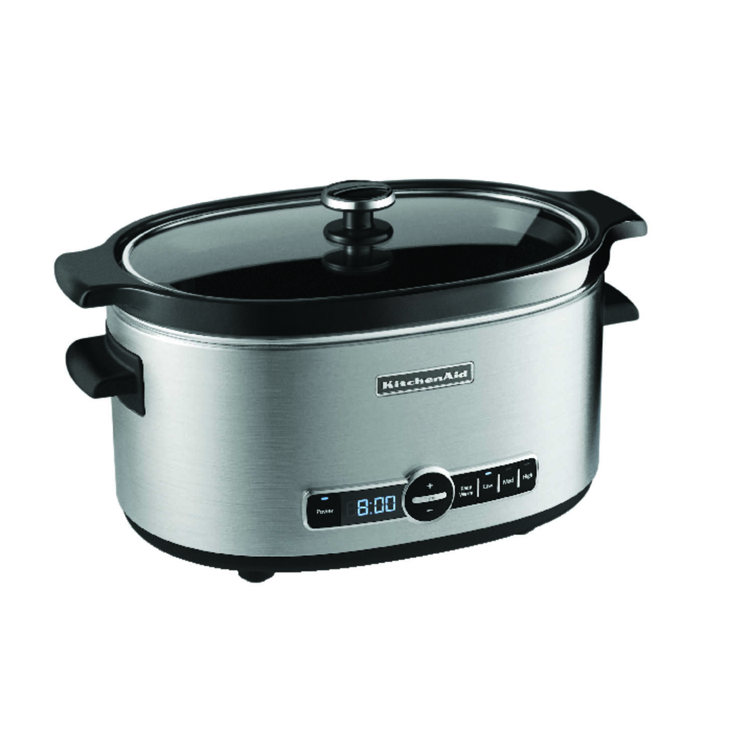 KitchenAid  6 qt. Metallic  Stainless Steel  Programmable Slow Cooker