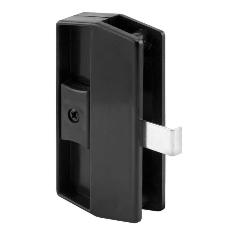 Prime-Line  Black  Black  Plastic  Latch and Pull  1 pk