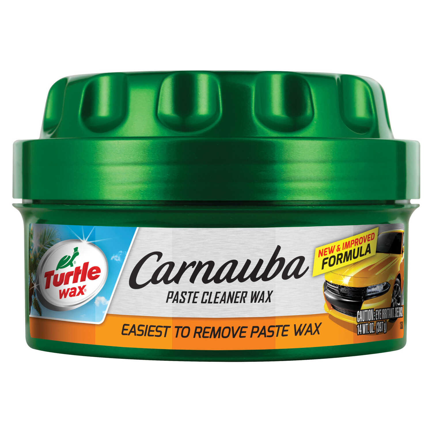 Turtle Wax  Carnauba  Wax  Automobile Wax  14 oz. For Removing Oxidation And Swirl Marks