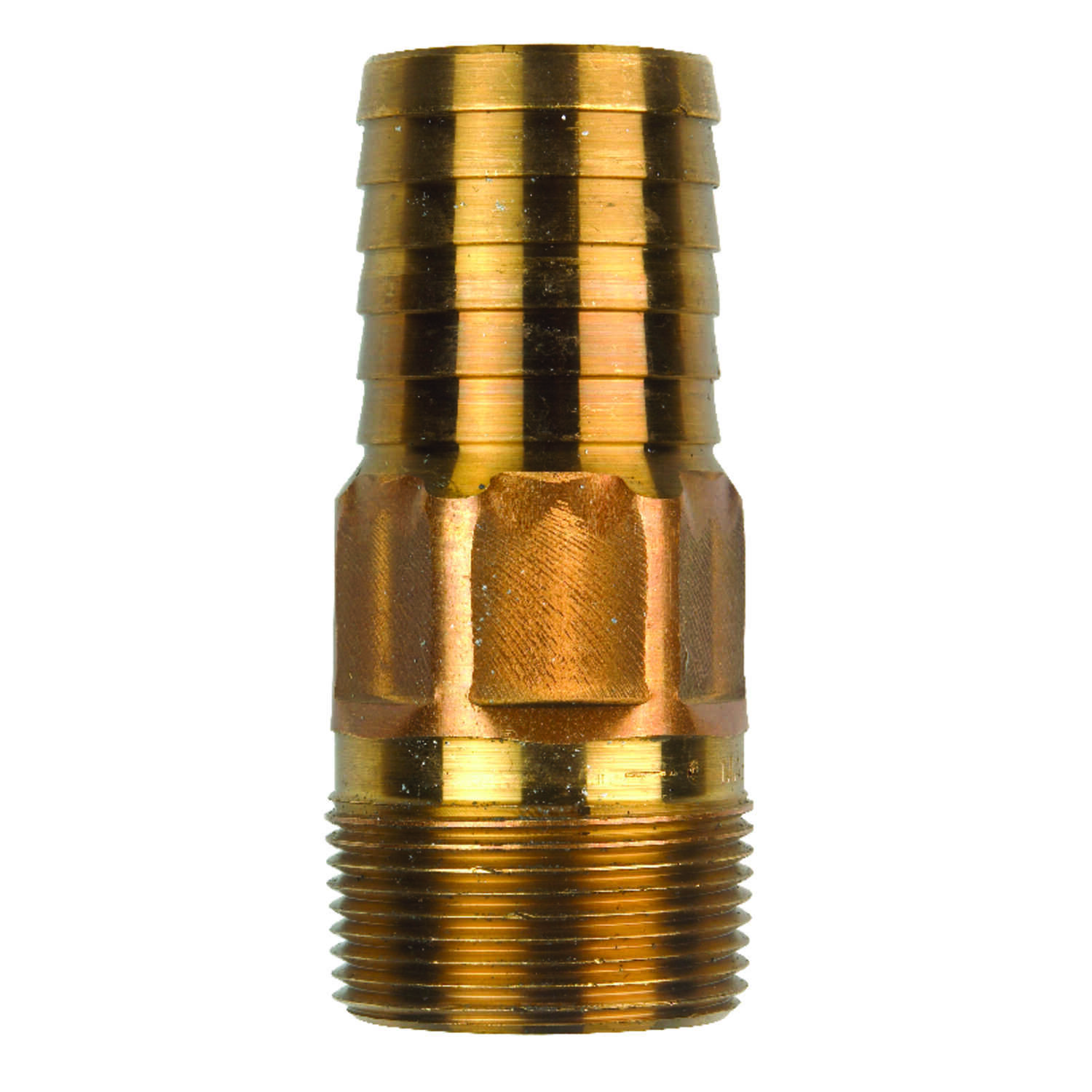 Campbell  Red Brass  Male Adapter  1-1/4 in.  x 4 in. L