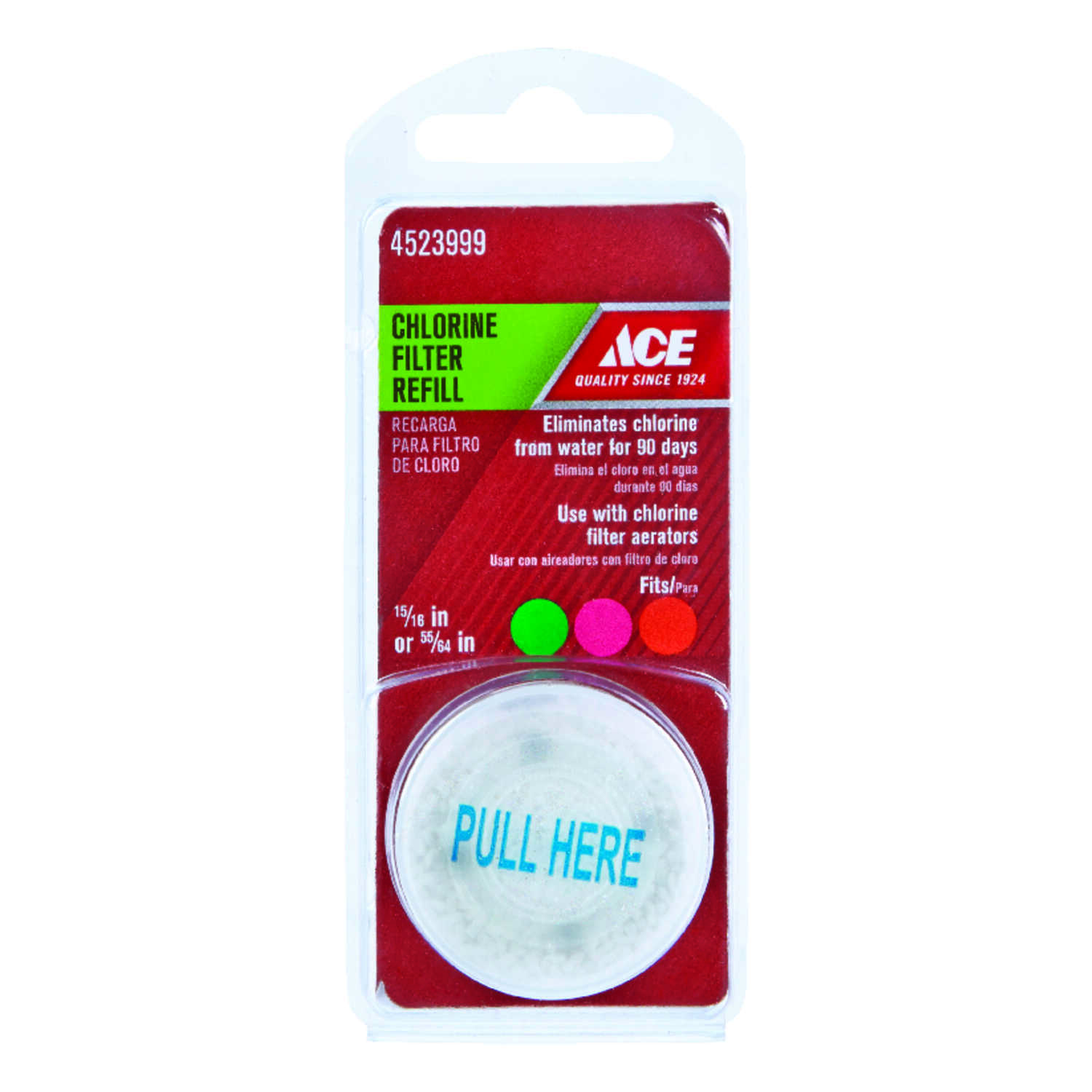 Ace  Chlorine  Filter Refill  0 gal.