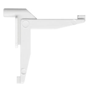 Prime-Line  White  Plastic  Tilt Key  7/32 in. W x 3/16 in. L For Aluminum Storm Window Panels 1 pk