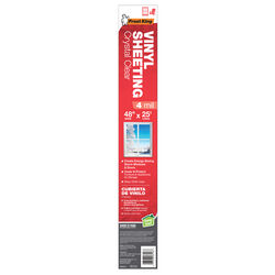Frost King Clear Vinyl Sheeting Roll For Doors and Windows 25 ft. L x 4 mil