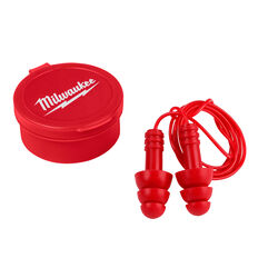 Milwaukee 26 dB Foam Ear Plugs Red 3 pk