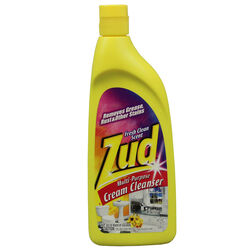 Zud  Fresh Clean Scent Heavy Duty Cleaner  19 oz. Cream