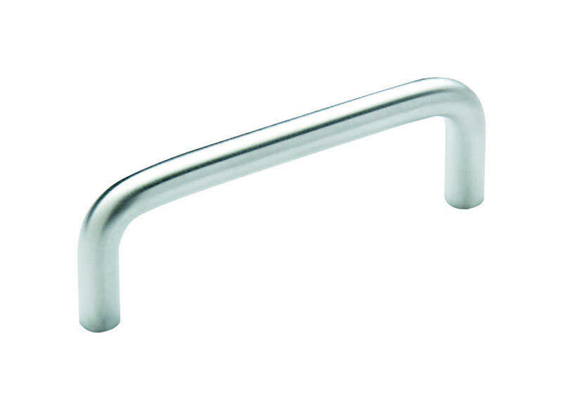 Amerock  Allison  Allison  Cabinet Pull  3 in. Brushed Chrome  1 pk