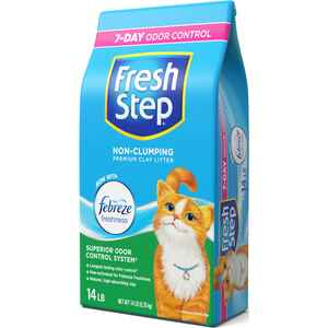 Fresh Step  Natural Scent Cat Litter  14 lb.