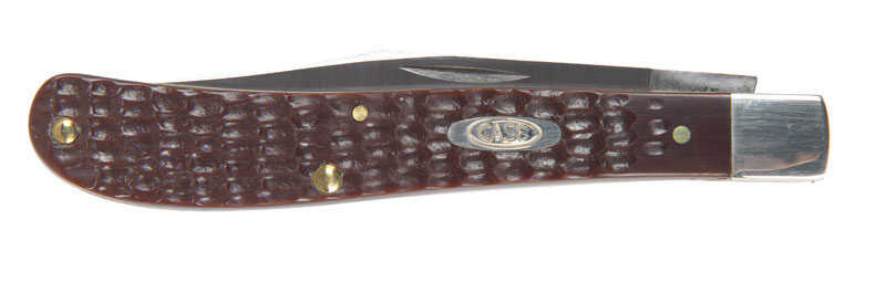 Case  Working Barehead Slimline Trapper  Brown  Stainless Steel  4.13 in. Pocket Knife