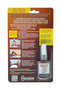 Highside Chemicals  8 1/2 in. W x 5 3/8 in. L Just For Copper  Copper Bonding  1 each Copper