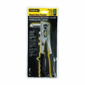 Stanley  Steel  Rivet Tool  Yellow  1 pc.