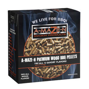 A-MAZE-N Products  Pitmasters Choice  Wood Pellets  2 lb.