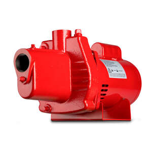 Red Lion  Cast Iron  Shallow Well Jet Pump  1 hp 23.2 GPM  115/230 volts