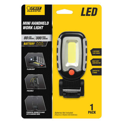 Feit Electric  300 lumens LED  Battery  Handheld  Work Light