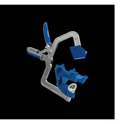 Kreg  1 in.  x 2 in. D 90 Degree  Corner Clamp  1 pk
