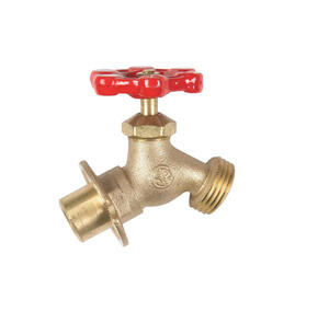 BK Products  Mueller  Brass  Sillcock Valve