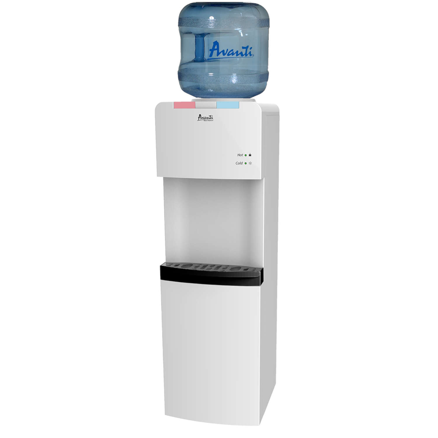 Avanti  5 gal. White  Water Dispenser  Plastic