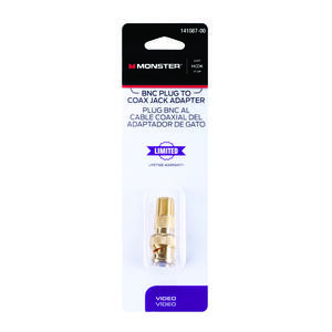 Monster Cable  Just Hook It Up  Cable Adapter  1 pk