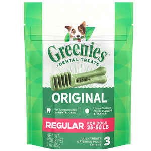 Greenies  Original  Original  Dog  Dental Stick  1 pk 3 oz.