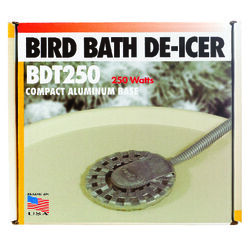 API  Bird Bath De-Icer/Heater