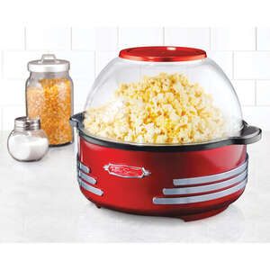 Nostalgia  Retro Series  Red  Oil  Popcorn Maker  24 cups