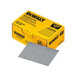 DeWalt 2 in. 16 Ga. Angled Strip Finish Nails 20 deg. Smooth Shank 2,500 pk