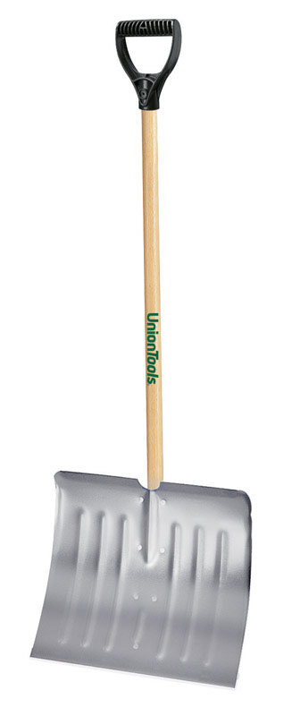 Ames  Union Tools  Aluminum  4.25 ft. L x 18 in. W Snow Shovel