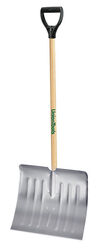 UnionTools  Aluminum  51 ft. L x 17.5 in. W Snow Shovel