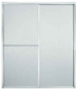 Sterling  Advantage  65.9 in. H x 46-3/16 in. W Silver  Silver  Framed  Shower Door