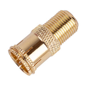Ace Quick Disconnect Adapter F Female to Push on F Male Gold Card