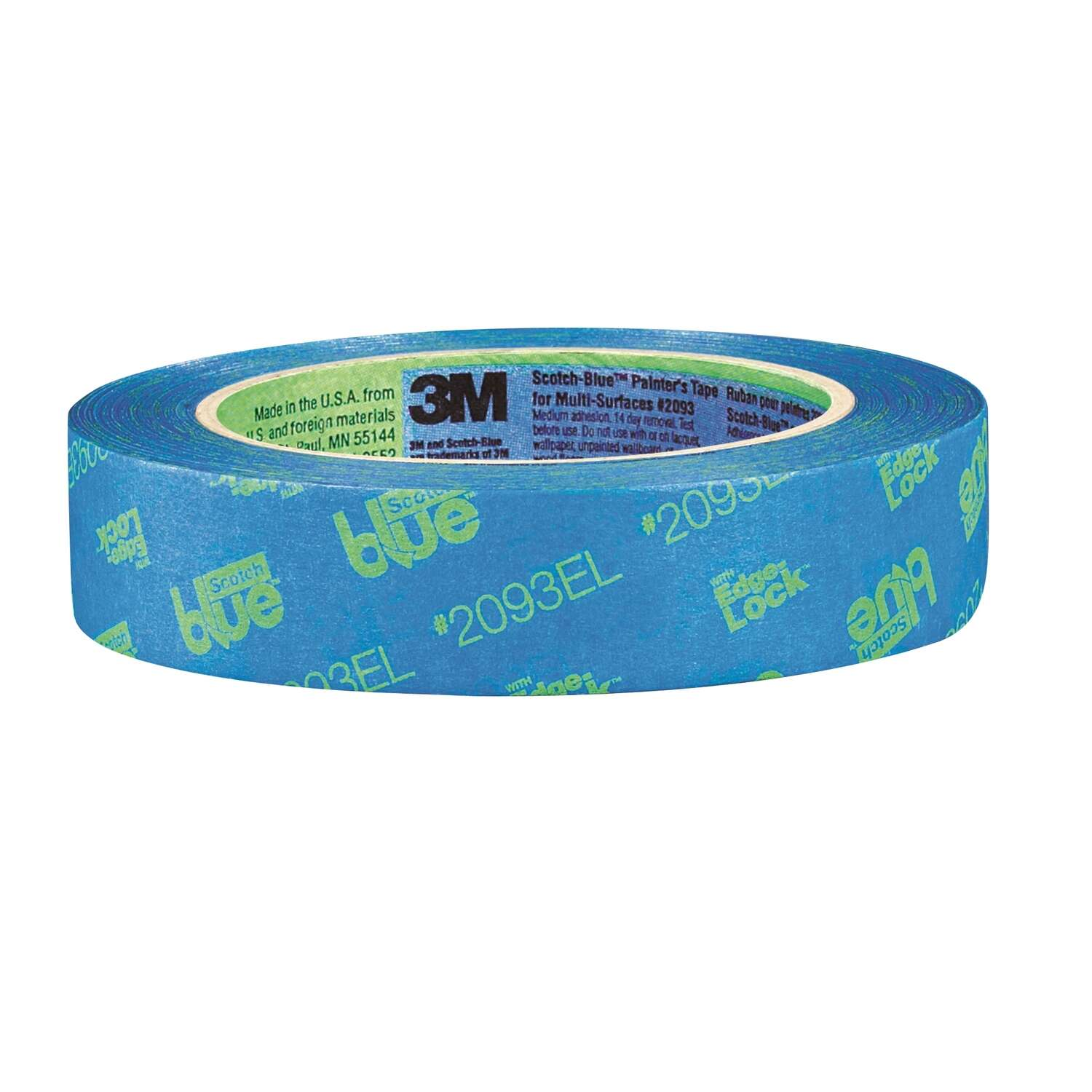 3M  Scotch Blue  0.94 in. W x 60 yd. L Painter's Tape  Blue  Medium Strength  1 pk