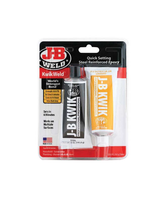 J-B Weld  KwikWeld  High Strength  Paste  Automotive Adhesive  10 oz.