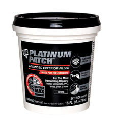 DAP Platinum Patch Ready to Use White Exterior Filler 16 oz.