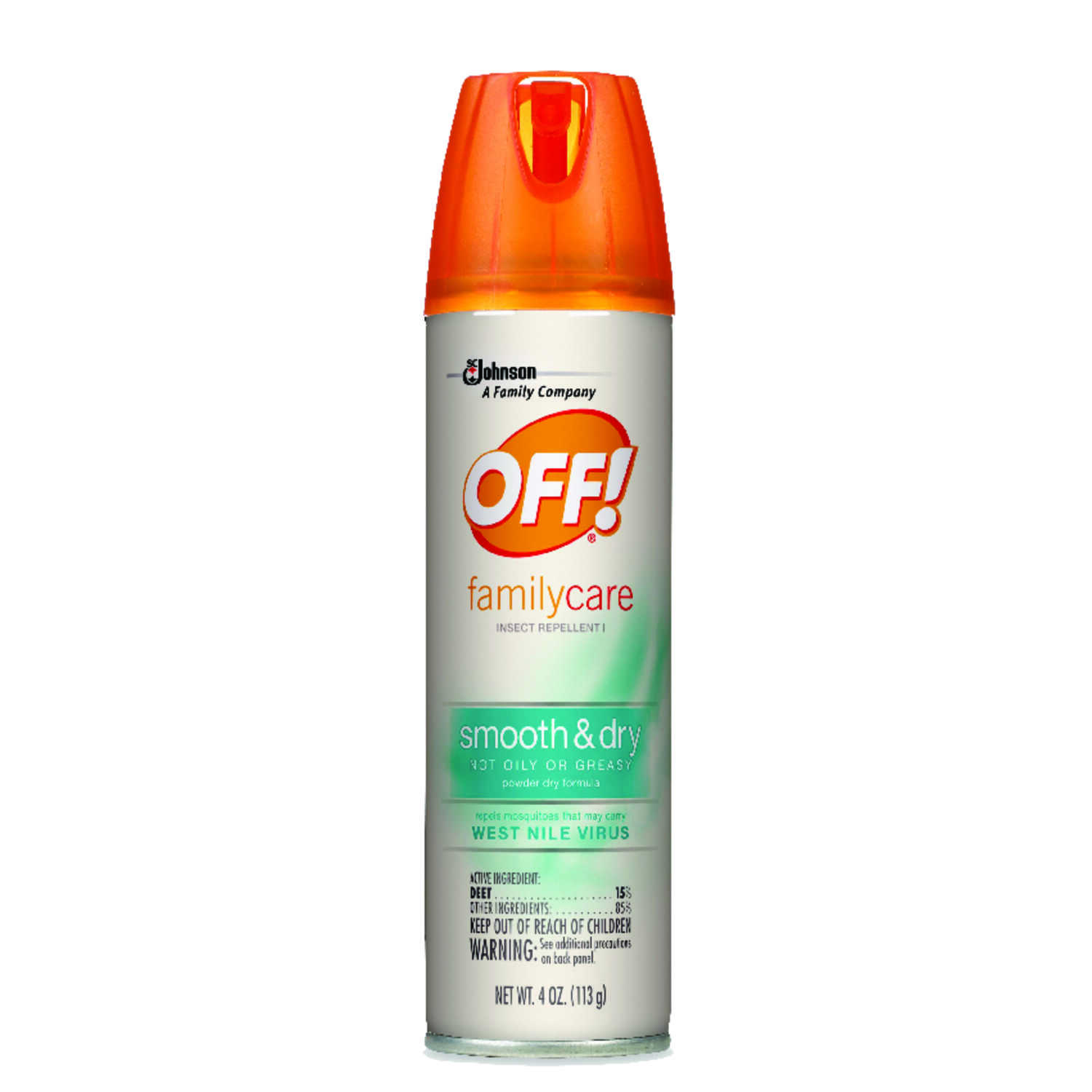 OFF  Insect Repellent  Liquid  For Mosquitoes/Ticks 4 oz.