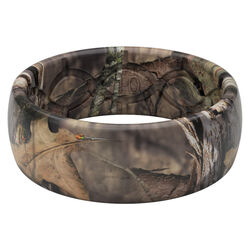 Groove Life Mossy Oak Unisex Round Brown Ring Silicone Water Resistant