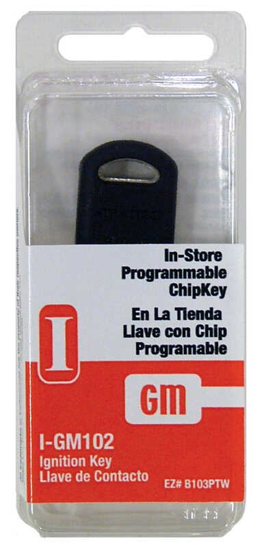 Hy-Ko  Automotive  Chipkey  EZ# B103P  Double sided For General Motors I-GM102 R/W