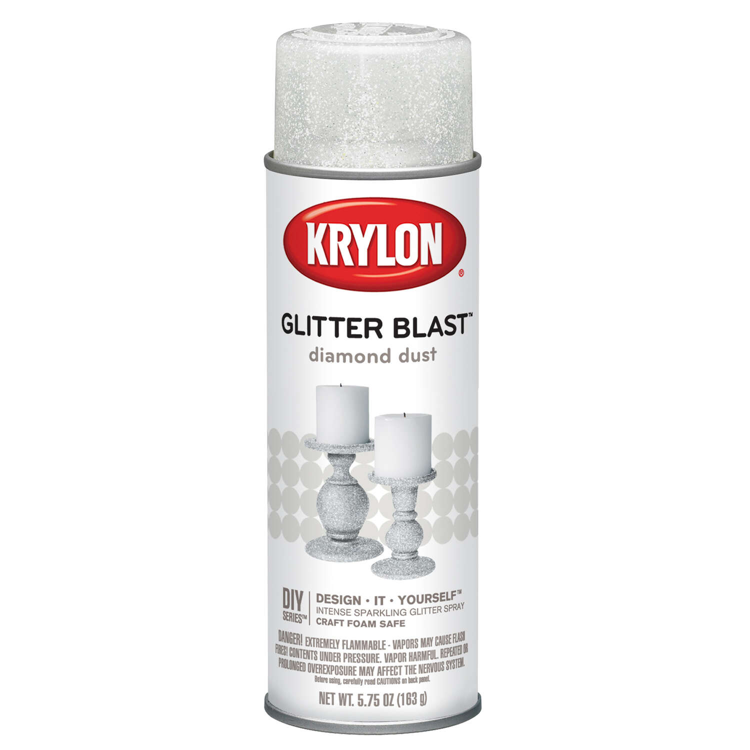 Krylon  Diamond Dust  Glitter Blast Spray Paint  5.75 oz.