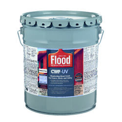 Flood  CWF-UV  Matte  Redwood  Water-Based  Wood Finish  5 gal.