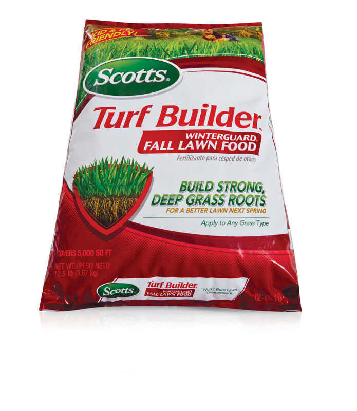 Scotts  Turf Builder Winterguard  32-0-10  Lawn Food  For All Grass Types 14.02 lb. 5000 sq. ft.
