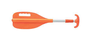 Seachoice  72 in. Orange  Aluminum  Paddle with Hook  1 pk