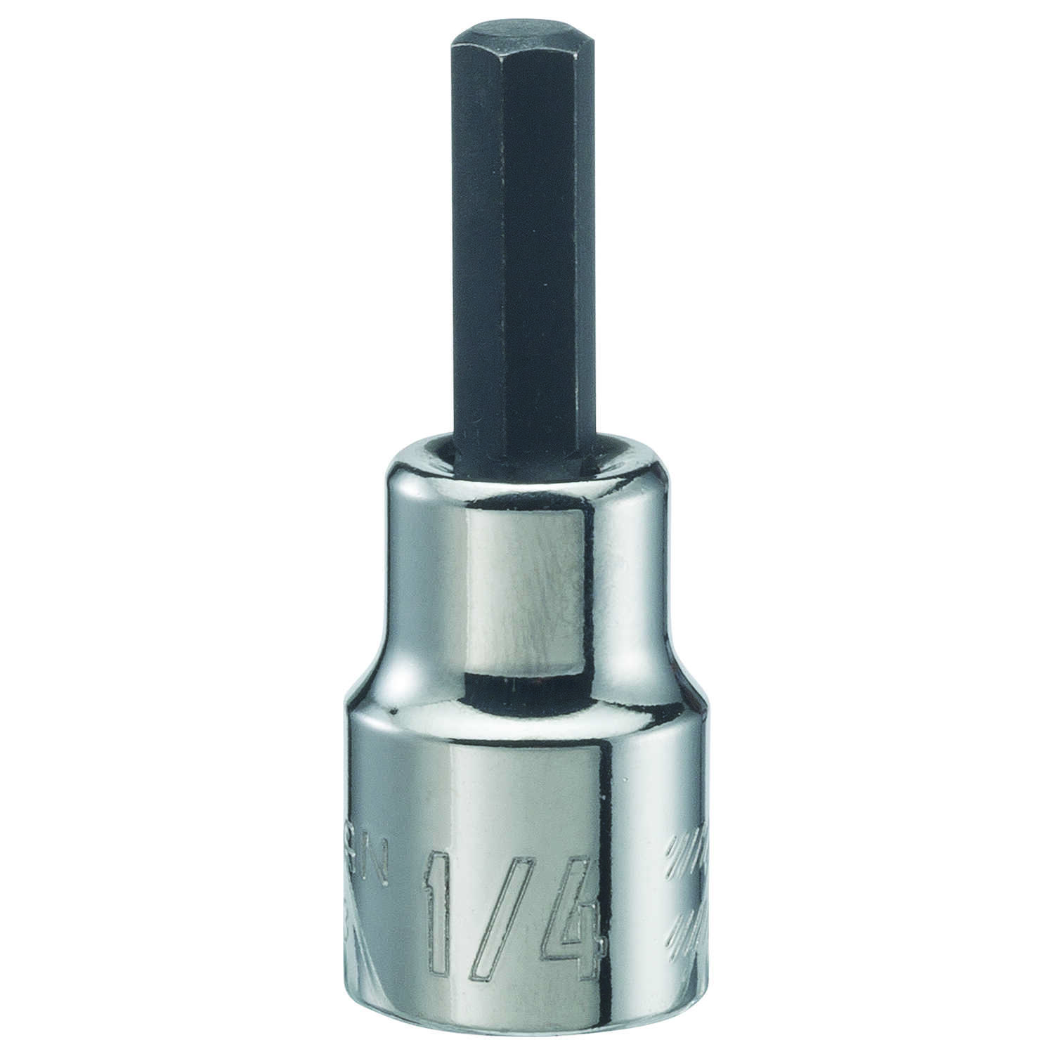 Craftsman  1/4 in.  x 3/8 in. drive  SAE  6 Point Standard  Hex Bit Socket  1 pc.