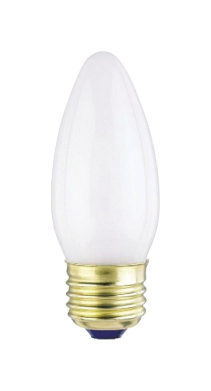 Westinghouse  25 watts B11  Incandescent Bulb  175 lumens Warm White  Decorative  2 pk