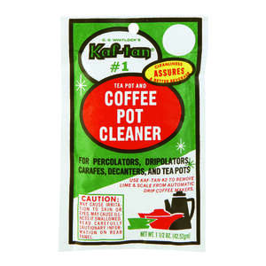 Kaf-Tan  White  Brewer Maintenance Kit  Plastic