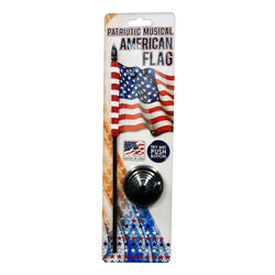 International Products National Anthem American Flag 13 in. H x 6 in. W