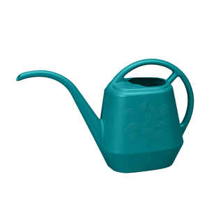 Bloem  Teal  0.44 gal. Resin  Watering Can