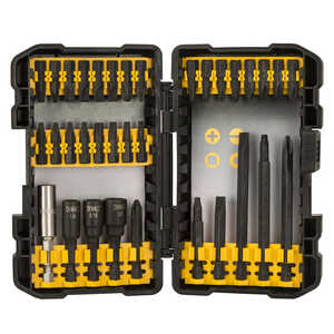DeWalt  Multi Size in. Dia. x Multiple  L Black Oxide  Quick-Change Hex Shank  34 pc. Quick-Connect
